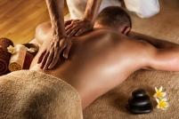 Deep tissue massage.